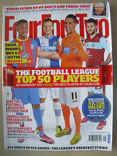 FOUR FOUR TWO MAGAZINE No 227 MAY 2013 TOP 50 FOOTBALL LEAGUE PLAYERS