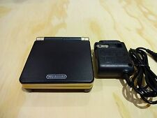 Nintendo Game Boy Advance GBA SP System AGS 101 Brighter Black + Gold MINT NEW