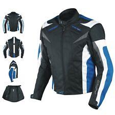 A-Pro Ace Giacca Moto per Donna - Blu, EU L