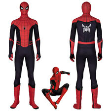Spiderman Costume Cosplay Suit Peter Parker Spider-Man Far From Home Version 2