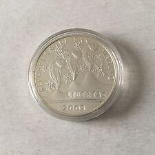 St Marin 1 pièce de 5 € en argent 2005 proof Jeux Olymp. Hiver 2006 Turin