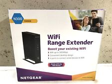 Netgear WN2000RPT N300 Universal Wi-Fi Range Extender 4-port Ethernet Switch