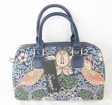 Strawberry Thief Bird Tapestry Handbag or Shoulder Bag (Strap Supplied) Signare
