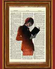 Light Death Note Anime Dictionary Art Print Poster Picture Japanese Book Manga