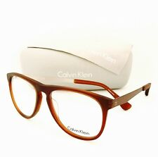 abfe6f5761 New Calvin Klein Eyeglasses 5888 201 Matte Brown 54•16•145 With Case