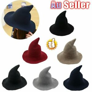 Modern Witch Hat Halloween High Quality Cotton Blend Made From BZ