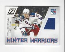 2010-11 Zenith Winter Warriors Alexander Frolov JERSEY Rangers