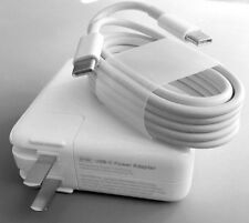"""Orig. A1718 61W USB-C Power Charger Adapter f/Apple MacBook PRO 13"""" 2M Cable USA"""