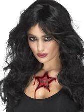 Occult Rams Head Star Tattoo Transfer Halloween Special FX Fancy Dress