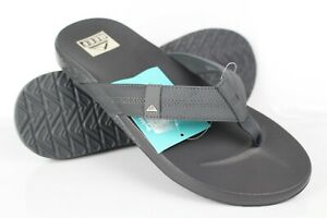 Reef Men's Cushion Bounce Phantom Flip Flop Sandals Dark Grey CI2771