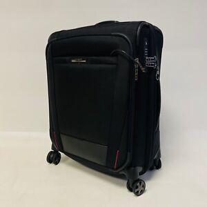 SAMSONITE PRO DLX 5 Spinner 55cm Expandable Case 3.2KG Hand Luggage Flight Bag