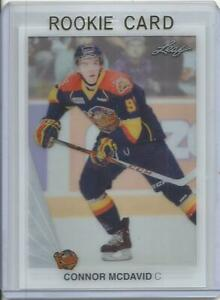 2014-15 Leaf Connor McDavid Acetate Expo Pre Rookie Card RC (Erie Otters)