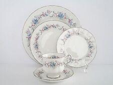 Set of 4, Vintage Paragon England Romance Bone China Dinnerware Set