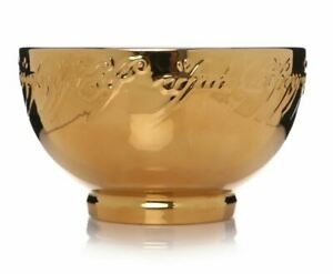 OFFICIAL LORD OF THE RINGS ONE RING GOLD STONEWARE BREAKFAST CEREAL BOWL NEW