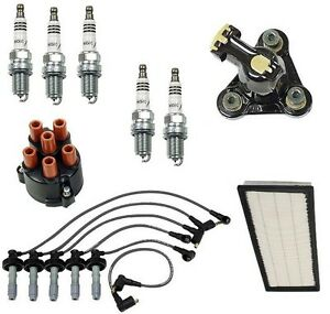 For Volvo 850 93-97 Ignition Tune up Kit w/ NGK Iridium Spark Plugs Cap Rotor