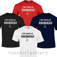 I'M I AM UNCLE KNOBHEAD T-SHIRT T SHIRT FUNNY RUDE GIFT T SHIRT