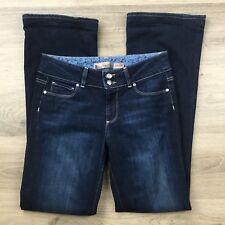 Paige Women's Jeans Hidden Hills Boot Cut Size 28 or 10 Actual W29 L31.5 (BK1)