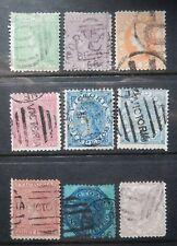 Victoria Scott #110-111, 114-119, 123, Used