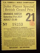 John Player Special British Grand Prix 1984 - Practise Day Ticket