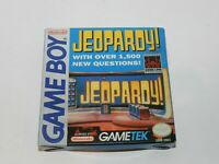 Jeopardy! Nintendo Game Boy Complete in Box Original Tested CIB