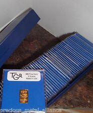 300 GRAMS GOLD 24K PURE TGR PREMIUM BULLION 150 BARS MONSTER BOX A PREPPER WORLD