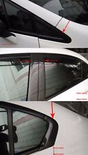 Carbon Fiber Front/B/Rear Pillar Covers 8pcs For Honda Civic 2012-2014 4 Doors