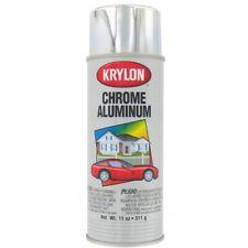 Krylon K1404 Metallic Spray Paint, Chrome Aluminum