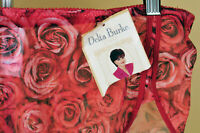 New DELTA BURKE Intimates Womens Briefs Panties Red Floral Plus Size XXXL
