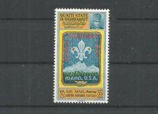 Qu'Aiti Hadramaout 1967 PA 3 ** Scoutisme Jamboree Idaho