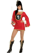 Adult Movie Three Musketeers Sexy Musketeer Renaissance French Dress 2-6 Costume