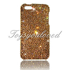 Gold Crystal BLING CASE FOR IPHONE 7 / 8 plus 5.5 Made with SWAROVSKI ELEMENT