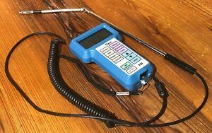 TSI Velocicalc Air Velocity Meter Model 8345 W/ Articulating Probe 8345-M-GB