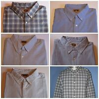 The Foundry Supply Co. Men's Shirt LS Button Front LT 2XL 2XLT 3XL 3XLT, New $50