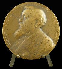 Medaille Armand Fallières Président de la République française L Deschamps medal