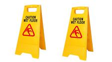 883504 Silverline 'a' Frame Caution Wet Floor Sign 295 X 610mm