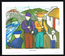 Gone Fishing/Northern/Irish Art Group/Fine Print/Martin Laverty/Ireland/New