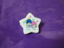 SANRIO JAPAN Little Twin Stars Vintage paper clip white  star kiki lala