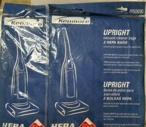 BRAND NEW!! Kenmore 20-50690 Vacuum Cleaner Bags Hepa Free Shipping (4) Bag2