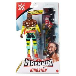 Kofi Kingston WWE Wrekkin Figure - Brand New