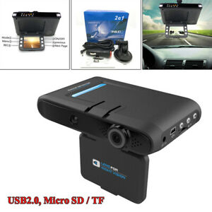 Car Backup Camera 2in1 720P Car DVR Camera Driving Recorder Dash Cam Radar Kits
