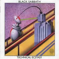 BLACK SABBATH TECHNICAL ECSTASY RARE CD Jewel Case+GIFT Ozzy Osbourne Tony Iommi