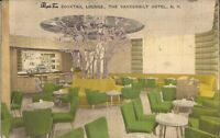 NEW YORK CITY - Vanderbilt Hotel - Purple Tree Cocktail Lounge - 1955