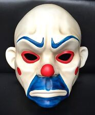 Joker Bank Robber Mask Clown Batman Dark Knight Cosplay Halloween Costume 038
