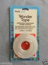 "Wash Away Wonder Tape - double sided adhesive tape / water soluble - 1/4"" wide"