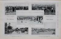 1900 PRINT OTTOS KOPJE DURING SIEGE COLONEL SCOTT TURNER LAST HONOURS LANCERS