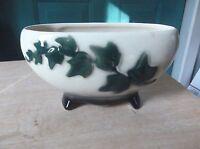 Vintage Royal Copley Ivy Vine Art Pottery Planter