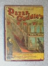 antique Parker Brothers card game of Peter Coddle's Trip To New York