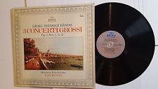 GEORG FRIEDRICH HANDEL - Münchener Bach-Orchester Karl Richter 3 Concerti Grossi