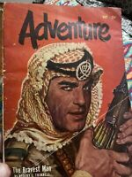 Adventure Magazine Popular Publications May 1951 Rare Find Robert Trimnell