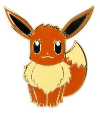 Pokemon Eevee Metal Enamel Pin